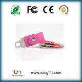 De Schijf van de Flits van Pendrive van het Leer van de Schijf van het Geheugen van de Bestuurder USB van de Flits USB