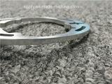 Profil anodisé balayé d'extrusion usiné par aluminium