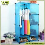 Garderobe van Armoire van de Slaapkamer van de Doos van de Opslag van pp de Materiële Vouwende Plastic