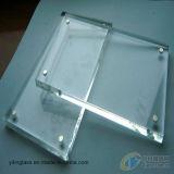 Couvercle du compteur avec verre trempé physiquement ou chimiquement tempéré