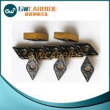 鋼鉄、鋳鉄、アルミニウム切断のための炭化タングステンの挿入