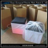 棒ナイトクラブのためのプラスチックシートLEDの家具