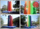 Quatre jouets gonflables jeu de sport escalade mur avec du canard (T7-509)