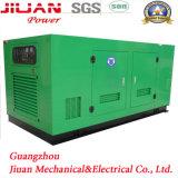 판매 가격 80kw 100kVA 침묵하는 전력 디젤 발전기를 위한 광저우 발전기