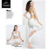 Frauen-elastisches Yoga Capri keucht feste Gamaschen