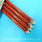 Втулка стеклоткани красного силикона Coated для изоляции трубы