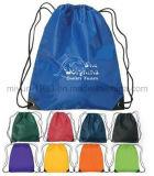 Sac de cordon fait sur commande bon marché en gros de sport de sac à dos (M.Y.D-022)