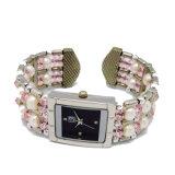 Orologio promozionale del braccialetto del braccialetto del quarzo per le signore