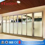 Дверь стеклянной перегородки самой последней конструкции съемная Tempered