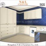 Шкафы комнаты прачечного MDF цвета лака материальные