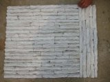 台所ガラスおよび石の大理石のモザイク・タイル(パターン床)