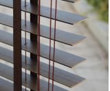 50mm 목제 베니션 블라인드 또는 현대 사무실 나무로 되는 장님