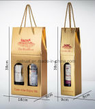 Rectángulo acanalado con los divisores, rectángulo del cartón del vino, rectángulo del vino del vino