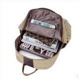 Saco de ombro com os homens de lazer de lona mochila aluno bag bolsa de viagem