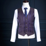 A lã máxima uma do Lapel abotoa o terno de negócio