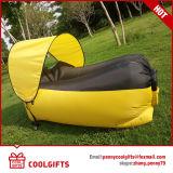 2016 جديدة قابل للنفخ كسولة أريكة هواء ينام سرير مع مظلة