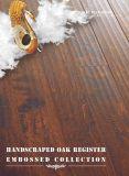 Handscrapedのカシの積層物のフロアーリング