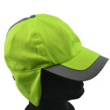 Chapeau fait sur commande de polyester de chapeaux de protection de Sun avec l'aileron d'oreille