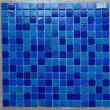 [موسيك تيل] فسيفساء زرقاء زجاجيّة لأنّ [سويمّينغ بوول]