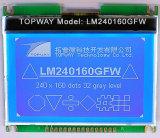 240X160 Grafische LCD van het radertje Vertoning met LCD van het Radertje van het Scherm van de Aanraking de Leverancier van de Vertoning (LM240160G)