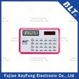 8 Chiffres Nom Taille de la carte Calculatrice (BT-109)