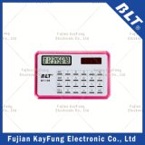 Nombre de 8 dígitos calculadora del tamaño de la tarjeta (BT-109)