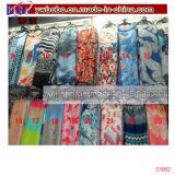Polyester Foulard Foulard en mousseline de soie souple foulard chaud Shaw (C1008)