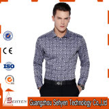 New Mens Fashion de luxe décontracté décontracté Slim Fit Shirt
