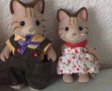 Muñeca rellena felpa del juguete de la familia de Sylvanian para el regalo