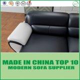 居間のための現代家具の余暇のコーナーの革ソファー