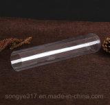Imballaggio plastico cilindrico trasparente del PVC