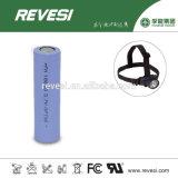 Batteria di litio 18650 per la sigaretta elettrica, torcia elettrica, torcia elettrica