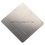 Concurrerende Prijs ASTM 304 Blad van het Roestvrij staal van het Linnen het Patroon In reliëf gemaakte Koudgewalste voor Comité van de Decoratie van de Deur van de Controle van de Keuken het Tegen