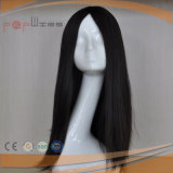 Peruca longa super superior de seda das mulheres da relação do cabelo de Remy da classe