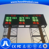 Rentable P10 SMD3528 Color Rojo Parada de Bus LED Display