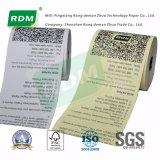 Papel termal Rolls para las calculadoras de la caja registradora