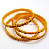 Wristband fino do silicone da impressão feita sob encomenda para o evento