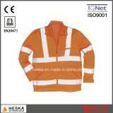 Olá vis proteção contra desgaste jaqueta reflexiva para homens