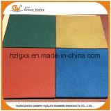 1mx1m покрашенные резиновый циновки плиток настила резиновый для детсада