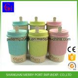 tazza di corsa del frumento di 14oz 400ml, tazze biodegradabili