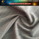 Polyester-Sydney-spinnendes Streifen-Gewebe für Kleid (R0075)