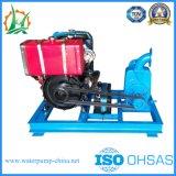 Individu de 3 pouces amorçant la pompe agricole de diesel de jet