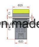 Lâmpada indicadora de LED / Indicador Aprovado pela CE com 5 anos de garantia