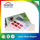 Matériau de construction promotionnel Papier mural Carte de couleur Livre pour la publicité