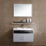 (T-080) Governo moderno di vanità della stanza da bagno di vendite della mobilia calda dell'acciaio inossidabile