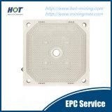 Haute performance pour filtrer et laver la plaque automatique de filtre-presse de membrane