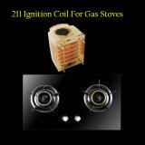 Piezas de la cocina de /Gas de la ignición de chispa para la cocina de gas del vector de 2 hornillas, estufa de gas