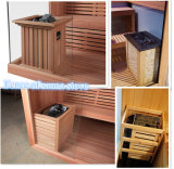 6 personnes Finlande Bois construit Monalisa Accueil Sauna à vendre
