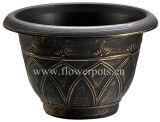 ブリストルの円形の植木鉢(KD2702S-KD2705S)