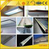 Perfil de alumínio Zhonglian Anodized Silver LED para tiras de LED com design personalizado